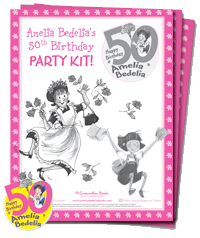 Amelia Bedelia's 50th Birthday Party Kit